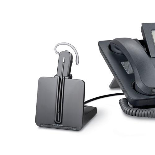 The NEW Plantronics CS540 convertible DECT wireless headset