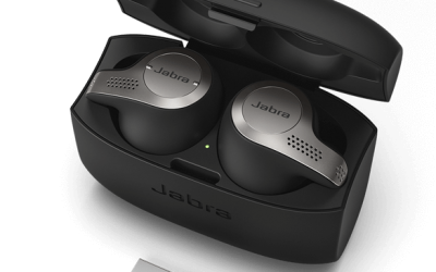 The New Jabra Evolve 65t Earbuds