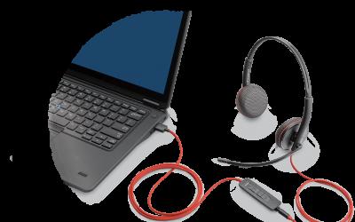 Plantronics Blackwire 3200 Multi Use Headsets